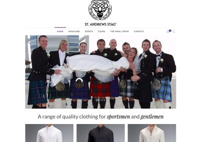 St Andrews Stag