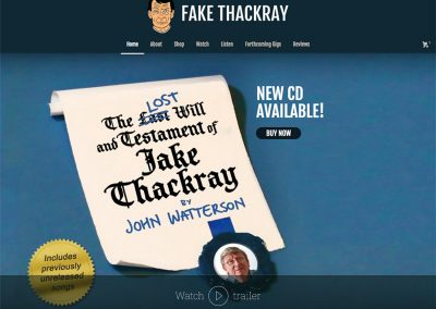 Fake Thackray