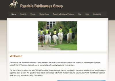 Ryedale Bridleways