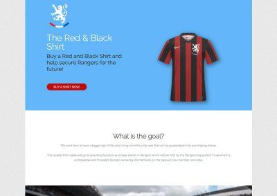 The Red & Black Shirt